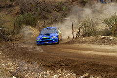 WRC CORONA RALLY MEXICO 2005 Stock Images