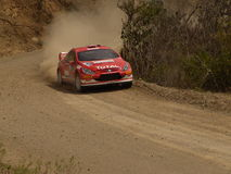 WRC CORONA RALLY MEXICO 2005 Stock Image