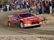 WRC CORONA RALLY MEXICO 2005 Stock Photos
