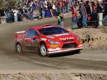 WRC CORONA RALLY MEXICO 2005 stock photos