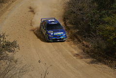 WRC CORONA RALLY MEXICO 2007 Royalty Free Stock Image