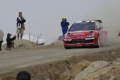 WRC CORONA RALLY MEXICO 2007 Royalty Free Stock Photos