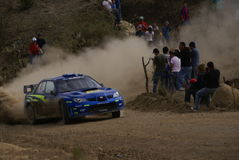 WRC CORONA RALLY MEXICO 2007 Stock Photography