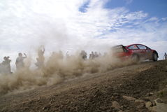WRC CORONA RALLY MEXICO 2007 Royalty Free Stock Images