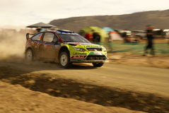 WRC Corona Rally Mexico 2010 LATVALA Stock Photo