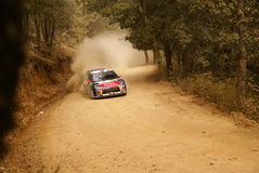 WRC Corona Rally Mexico 2010 Loeb Royalty Free Stock Image