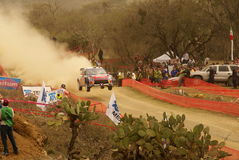 WRC Corona Rally Mexico 2010 Loeb Stock Image