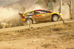 WRC Corona Rally Mexico 2010 Peter Solberg Stock Photos
