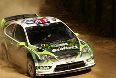 WRC Corona Rally Mexico 2010 WILSON Stock Photography