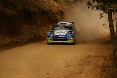 WRC Corona Rally Mexico 2010 Xavier PONS Stock Photography