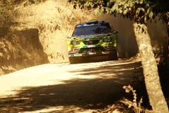WRC Corona Rally Mexico Royalty Free Stock Images