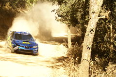 WRC Corona Rally Mexico Royalty Free Stock Photo