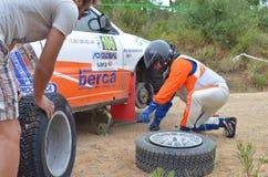 WRC Italia Sardegna Arkivbild