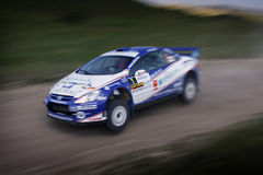 Wrc jumping - editorial Stock Photography