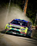 WRC Jyväskylä 2009 Fotos de Stock Royalty Free