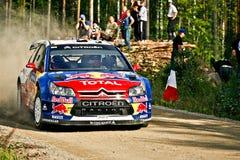 WRC Jyväskylä 2009_2 stockfoto