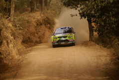 WRC Korona-Sammlung Mexiko 2010 LATVALA Lizenzfreie Stockfotos