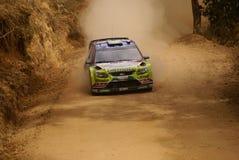 WRC Korona-Sammlung Mexiko 2010 LATVALA Lizenzfreies Stockfoto