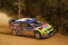 WRC Korona-Sammlung Mexiko 2010 LATVALA stockfotos