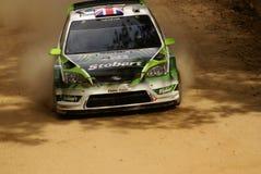 WRC Korona-Sammlung Mexiko WILSON 2010 Lizenzfreies Stockbild