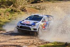 WRC14 Polo Water Arkivbilder