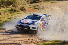 WRC14 Polo Water Stock Images