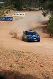 WRC Rally Acropolis Royalty Free Stock Photo