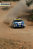 WRC Rally Acropolis Royalty Free Stock Photos
