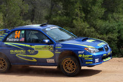 WRC Rally Acropolis Royalty Free Stock Photo
