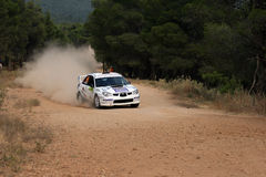 WRC Rally Acropolis Stock Image