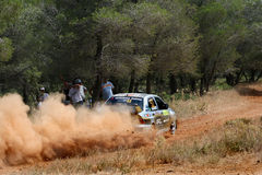 WRC Rally Acropolis Royalty Free Stock Image