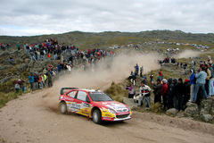 WRC Rally Córdoba Argentina Stock Photography