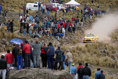 WRC Rally Córdoba Argentina Royalty Free Stock Images