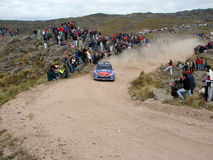 WRC Rally Córdoba Argentina Royalty Free Stock Photography