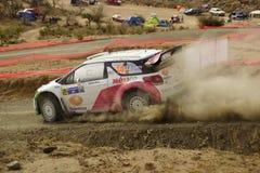 WRC Rally Guanajuato Mexico 2013 Royalty Free Stock Image
