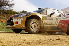 WRC Rally Guanajuato Mexico 2013 Stock Photography