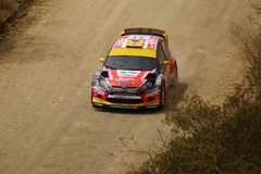 WRC Rally Guanajuato Mexico 2013 stock photo