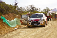 WRC Rally Guanajuato Mexico 2013. WRC Rally Mexico on Guanajuato Royalty Free Stock Photography