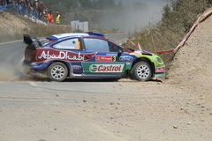WRC Rally Portugal Stock Image