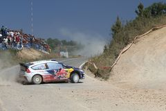 WRC Rally Portugal Stock Photo