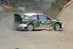 WRC Rally Portugal Stock Images