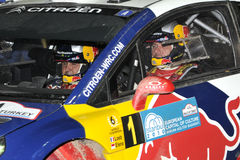 Wrc rally of turkey Stock Image