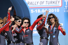 Wrc rally of turkey Royalty Free Stock Images