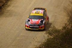WRC samlar Guanajuato Mexico 2013 Arkivfoto