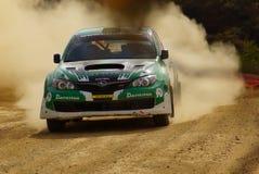WRC samlar Guanajuato Mexico 2013 Arkivfoton
