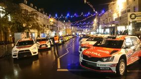Wrc Wales rally gb 2015, Llandudno, opening ceremony Stock Photography