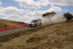 WRC Zlotny Guanajuato Meksyk 2013 Zdjęcie Stock