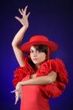 Würdevoller Flamenco Stockfoto