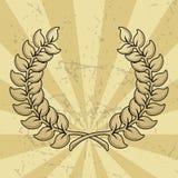 Wreath royalty free illustration
