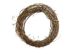 Wreath auf Weiß Lizenzfreie Stockfotografie